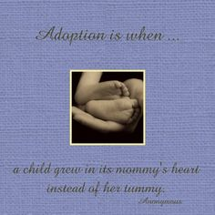quotes+about+adoption   treasure the joy of your new child with a beautiful keepsake work of ...