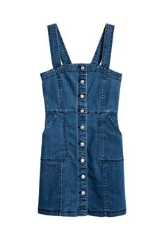Keep the overall dress trend going strong by pairing this with a tee and a pair of sneakers on the weekend.  Denim Dress, $35; hm.com.