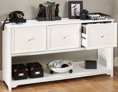 Oxford 3-Drawer File Cabinet - File Storage - File Cabinets - Office Furniture   HomeDecorators.com