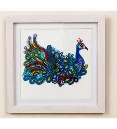 The Royal Peacock Wall Art
