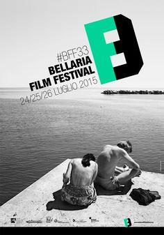 Bellaria Film Festival #BFF33 • 24-26 luglio 2015. Immagine di Cesare Ricci, progetto grafico di Sara Lanzoni.