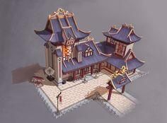 ArtStation - Some Architecture Designs, Jayson Zhu