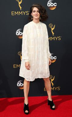 Gabby Hoffman from 2016 Emmys Red Carpet Arrivals In vintage