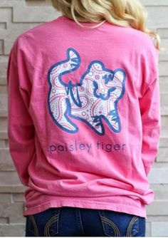 906d1a354 Paisley Tiger Casual T-Shirt Ivory Ella Stickers, Shelly Cove, Tiger Shirt,