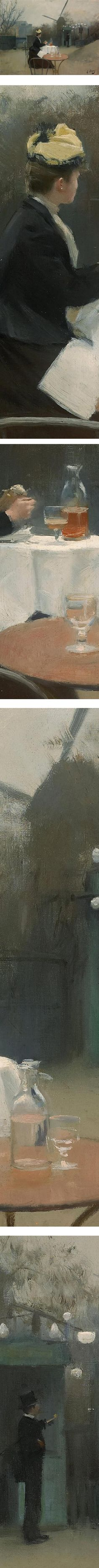 Plein air, Ramon Casas