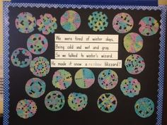 Teach With Laughter: Rainbow Snowflakes