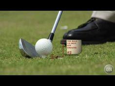 Golf Tip: The Iron Tee Shot
