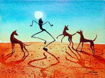 Judy Prosser's Web Gallery - Horse Paintings available from this page Aboriginal Painting, Horse Paintings, Web Gallery, Australian Art, Earth, Horses, Artist, Red, Animals