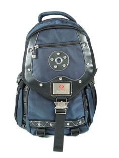 Simplicity Fashion Studs Nylon Backpack Sports School Bookbag | eBay