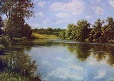 Romantic, River, Painting, Outdoor, Art, Paisajes, Outdoors, Art Background, Painting Art