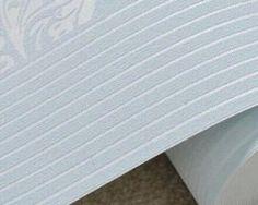 Vzorovaná textilná reliéfna tapeta na stenu v modrej farbe Stencil, Rugs, Home Decor, Farmhouse Rugs, Decoration Home, Room Decor, Stenciled Table, Home Interior Design, Rug