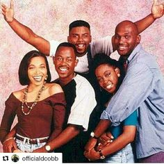 martin- hilarious show this was. interestingly, tichina arnold martin lawrence would later play husband wife in the movie, 'wild hogs'. Martin And Gina, Martin Show, Martin Lawrence Show, 90s Tv Shows, Movies And Tv Shows, Tichina Arnold, Black Sitcoms, Black Tv Shows, 90s Nostalgia