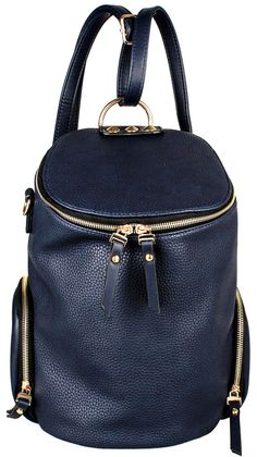 Two Ways to Wear Bag, Navy Blue