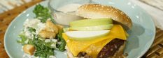 Julie Munch's Green Apple Aioli Burger | LIVE with Kelly and Ryan