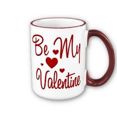 Valentine's Day Holiday Coffee Mug