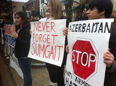 Esta semana se cumple 27 años de la sangre armenia derramada en la ciudad costera de Sumgait en Azerbaiyán.