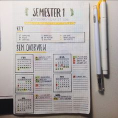 Creative future setup! Credit to tumblr user genspen #study #studyblr #studyspo #bulletjournal #journal #stationery #planner #planneraddict #plannercommunity