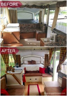Megan's Pop Up Camper Makeover - The Pop Up Princess