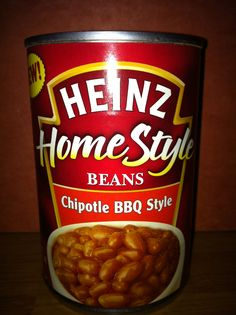 Heinz home style beans chipotle BBQ style