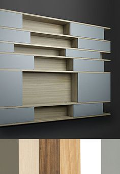 Farbschemata- Premium Tischlerqualität - wir bauen dir dein Traumregal, genau nach deinen Vorstellungen. A Shelf, Shelves, Vertical Or Horizontal, Shelf Design, Open Shelving, Designer, Bookcase, Ideas, Home Decor