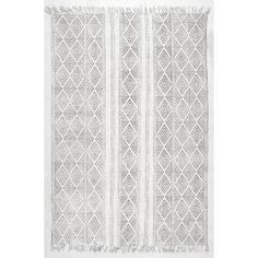 nuLOOM Olvera Off White 9 ft. x 12 ft. Area Rug-RACH07A-860116 - The Home Depot