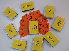 számolás gyufásdobozokkal Dyscalculia, 9 And 10, Coasters, Teaching, School, Kids, Young Children, Boys, Coaster