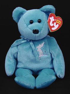 Panmunjom - bear - Ty Beanie Babies