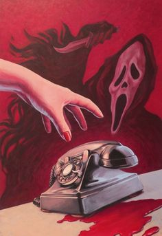 Vintage horror scream & vintage horrorschrei & cri d'horreur vintage & cry of horror arte vintage e vintage horror, mulheres vintage horror, vintage horror preto e branco, mon Horror Scream, Scream Movie, Arte Horror, Scream Art, Horror Posters, Horror Icons, Horror Films, Horror Villains, Horror Comics