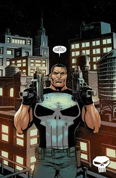 Punisher Comic Book Characters, Comic Book Heroes, Marvel Characters, Comic Character, Comic Books Art, Comic Art, Book Art, The Punisher, Punisher Comics