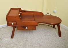 Mid Century Cobblers Bench : EBTH