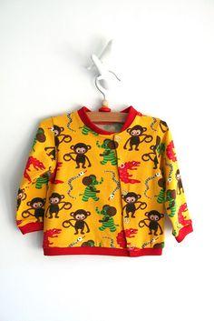 Animal sweater   Little Dumbo patroon in een korte versie - Leven met Liv