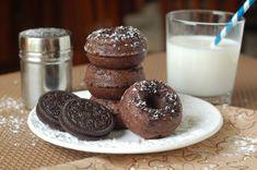 The Sweet Chick: Mini Chocolate Oreo Donuts