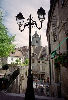Dole, France is a lovely area near Dijon. https://www.facebook.com/pages/Le-Club-Franglais-Torbay/1503767229909053