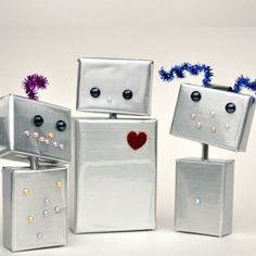 10 Robot Crafts for Girls and Boys | Spoonful. Kids Healthy Teeth - pediatric dentist in Katy, TX @ kidshealthyteeth.com