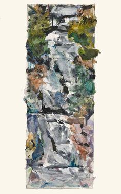 Cascade - Empire Ranch Show 2011 Watercolor/Collage