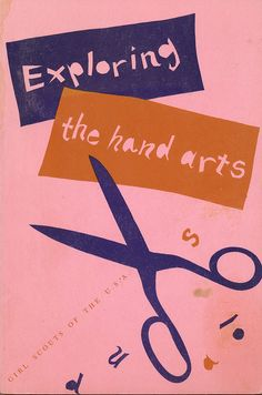 Corinne Murphy, Exploring the Hand Arts, 1955.  Cover by Alvin Lustig.