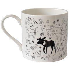 Mug With Small Animal Scatter