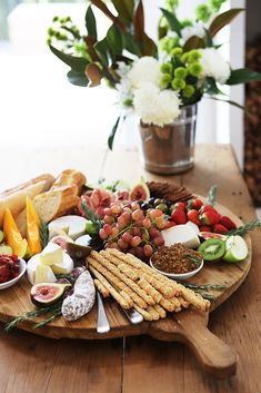 """""""The afternoon mezze platter at Overflowing with cured meats, cheeses, fresh figs, baguettes, quinces etc. Will be skipping dinner now. Meze Platter, Snack Platter, Mezze Platter Ideas, Cheese Platters, Food Platters, Wine Slushie Recipe, Guacamole, Gluten Free Deserts, Fresh Figs"""