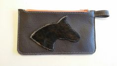 Etui made by STOFFELDESIGN New Bag, Leather Case, Cases, Wallet, Leather Pencil Case, Purses, Leather Pouch, Diy Wallet, Purse