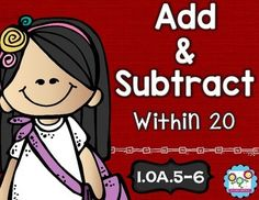 Addition and Subtraction Math Tasks and Exit Tickets - Use this 26 page resource to help your 1st grade classroom or homeschool students master adding and subtracting within 20. With purchase you get 5 math tasks for cooperative learning, 7 exit tickets for individual assessment, and I can statements. Great for your first graders to use during math centers or stations, homework, morning work, small groups, and more. Get it now! $ {1.OA.5 & 1.OA.6}