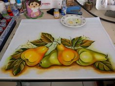 Fruit Picture, Manila, Adult Coloring, Diy And Crafts, Bird, Drawings, Painting, Dish Towels, Tulip Painting