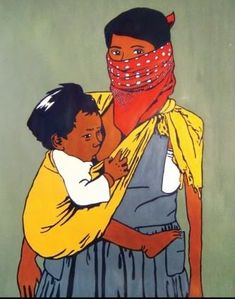 mujer zapatista