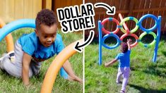 DIY Dollar Store Backyard Obstacle Course - HGTV Handmade