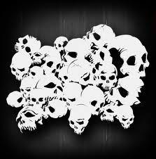 skull stencils - Google Search