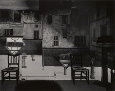 Camera Obscura: Courtyard Building, Lacock Abbey, England, 2003, Abelardo Morell, gelatin silver print. The J. Paul Getty Museum, 2011.48.4.