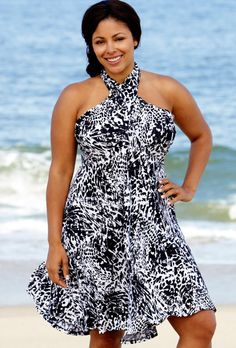 Beach Belle® Antigua Six-in-One Convertible Dress(Come on get your gift swim suits and dresses at swimsuit for women)