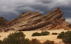 Vasquez Rocks in Agua Dulce, Calif., just north of Los Angeles, located more or less between the Santa Clarita Valley and the Antelope Valley.