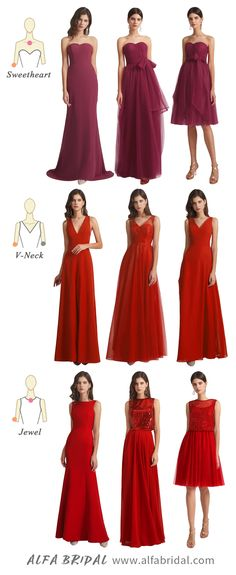 Alfabridal will help you to find the perfect dresses for your bridesmaids. #bridesmaiddresses #Alfabridal Cheap Red Bridesmaid Dresses, Bridesmaids, Wedding Dresses, Bridesmaid Inspiration, Sequin Fabric, Different Fabrics, Theme Ideas, Dress First, Maid Of Honor