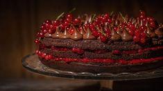 Rybízový čokoládový dort. Snadněji to nejde!