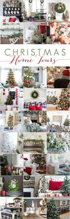 Looking for Christmas decor inspiration? See lots of holiday decor ideas here at the Cherished Christmas Home Tour with Country Living magazine! 27 talented Bloggers Christmas Home Tours at http://www.settingforfour.com